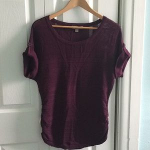 Ruched sweater NWOT